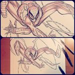 Commish 164 WIP 01 by RobDuenas