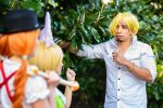Fake Sanji One Piece Whole Cake Island Cosplay by firecloak