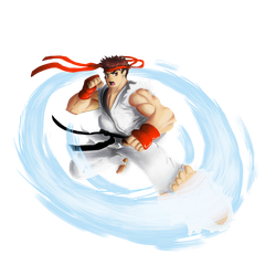 Ryu SF2 by Modernerd