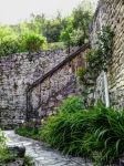St Cirq Lapopie 06 - Old stairs by HermitCrabStock