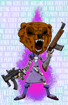 Luna The Grizzly Loud Royal Woods by OasisCommander51
