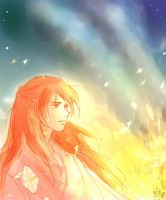 Maedhros at Losgar by MintKim