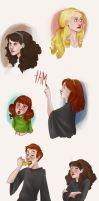 HP: Color Practice by Loleia