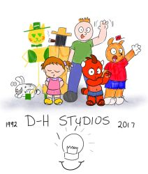 Old, but not forgotten OCs. D-H Studios! by allthecircles