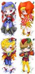 OPEN Card Quatuor DakimakurAdopt (points|paypal) by Mokolat-Illustr