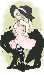 Hazel the witch by Umbreawesome