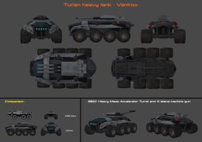 Turian Tank Concept by nach77