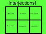 Interjection Template by magmon47