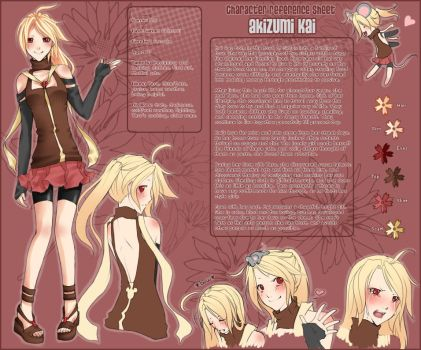 Kai Character Sheet by Kuurin