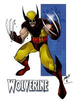 Wolverine Old School - Color by richmbailey