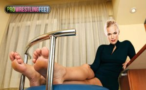 WWE Lana Feet by ProWrestlingFeet