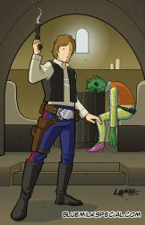 Han Solo Commission by stratosmacca