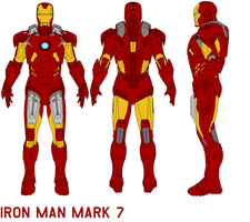 ironman mark 7 armor by bagera3005