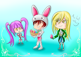 Asbel, is This Really Necessary? / HOPPY EASTER by RollingTomorrow
