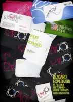 Business Card Explosion - 001 by angelaacevedo