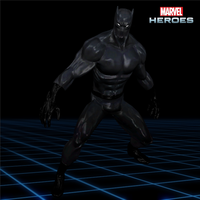 Marvel Heroes - Black Panther [Classic] by CaxUchiha