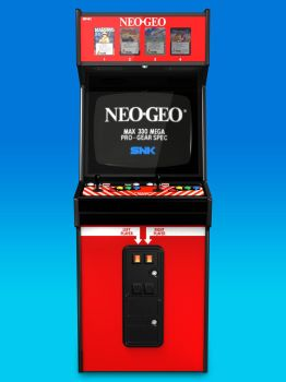 BIG RED Neo Geo Cabinet 3D Model (front) by Arcade-TV