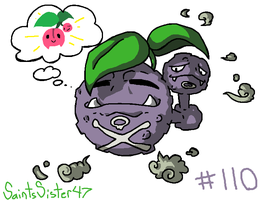 #110 Weezing by SaintsSister47