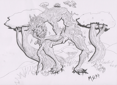 Crooked Tree by Morth-the-Raven
