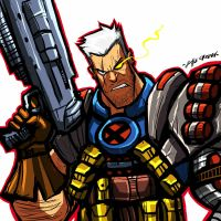 $15 COMMISSION SALE:CABLE by Sabrerine911