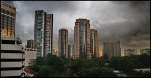 Orchard Road Skyline by tmz99