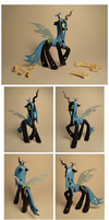 Queen Chrysalis Custom by Colour-Splashes