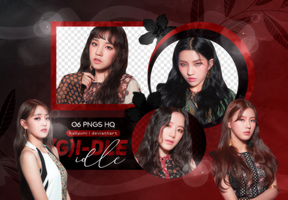 PNG PACK: (G)I-DLE #3 (HANN) by Hallyumi