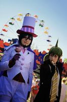 Mephisto and Amaimon Cosplay by JonneCat