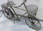 wrought iron bicycle by merpagigglesnort