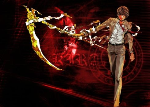 Yagami Light Wallpaper by ExctonIc