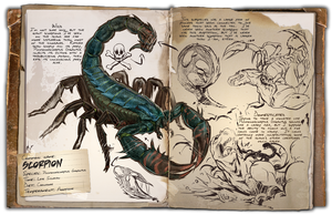 Ark: Survival Evolved Dossiers: Pulmonoscorpius by DJDinoJosh