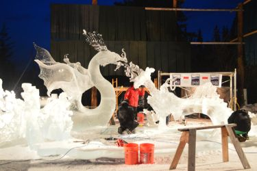 Ice sculpture 75 by Roxy-the-art-nut