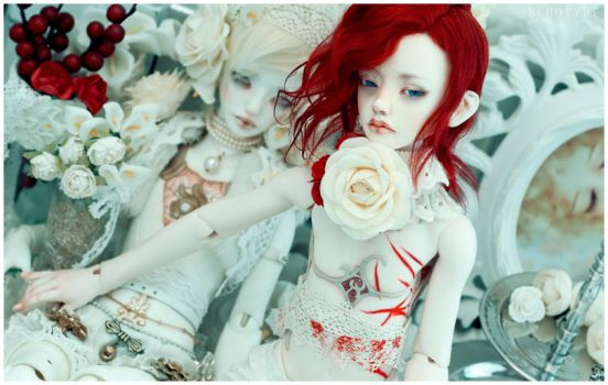 The White Rabbit and the Red King by Bluoxyde