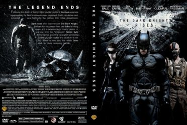 The Dark Knight Rises DVD Cover by Mike1306