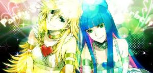 Panty and Stocking Tag by amielnic