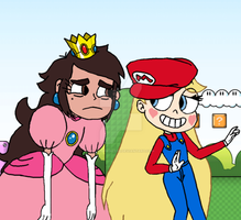 Princess Marco Toadstool and Super Star