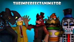 New Youtube Banner by TheImperfectAnimator