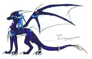 .:Me:.  Tyra the Dragoness by TyraDragoness