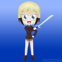 Witche's Weapon: Erica's Falchion by ThanyTony