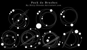 Pack Brushes Circulares by Dirty-Dreams