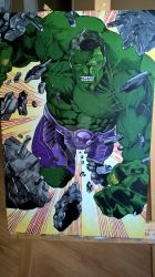 Incredible Hulk. by littlebird11