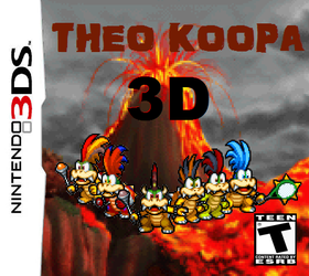 Theo Koopa 3D by Snivy101