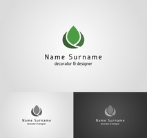 decorator and designer logo I by flatmo1
