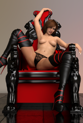 Throne by skinnii3D