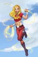 WonderGirl - Colored by JamieFayX