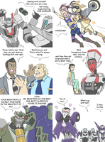 TF - Countdown to TFP season 2 crossovers 7-12 by Rosey-Raven