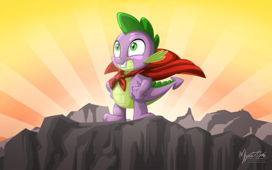 Spike the Hero by mysticalpha