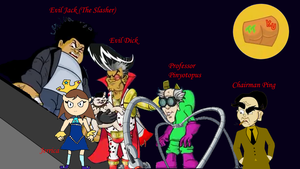 The Evil Five (TTBoy and Kid Utut Villains) by TwistedDarkJustin