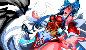 AHRI - LOL - Rascunho 4 by AntonioWellington