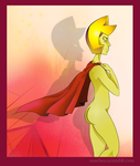 Yellow Diamond's Cape by SusieBeeca